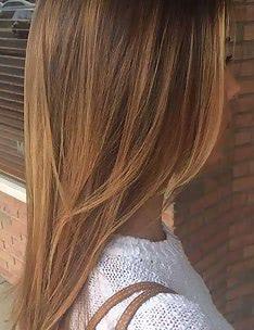 Каскад на длинные волосы