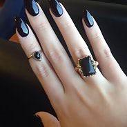 Миндалевидные ногти