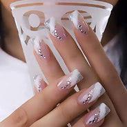 Маникюр гель-лаком (нарощенные ногти)