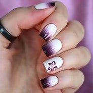 Фиолетовый маникюр #04
