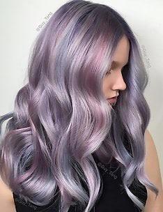 Фиолетовые волосы #09