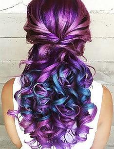 Фиолетовые волосы #10