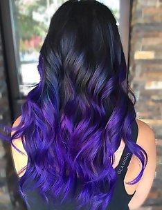 Фиолетовые волосы #11