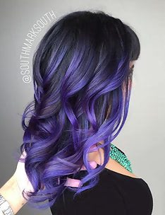 Фиолетовые волосы #12