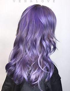 Фиолетовые волосы #13