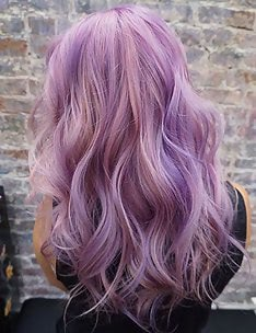 Фиолетовые волосы #14