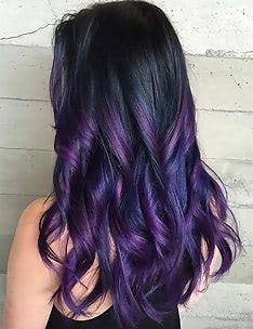 Фиолетовые волосы #15
