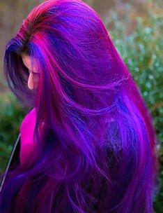Фиолетовые волосы #16