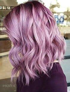 Фиолетовые волосы #17