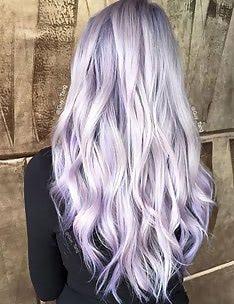 Фиолетовые волосы #18