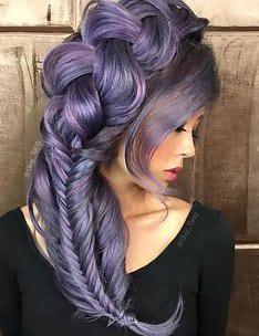 Фиолетовые волосы #21