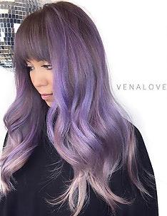 Фиолетовые волосы #22