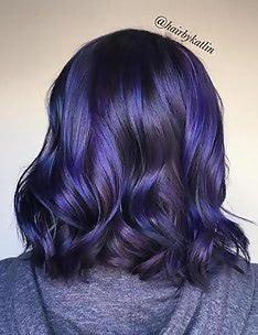 Фиолетовые волосы #23