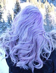 Фиолетовые волосы #24