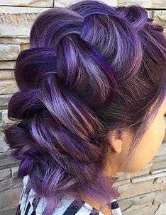 Фиолетовые волосы #25