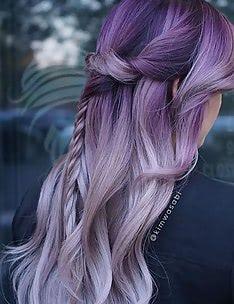 Фиолетовые волосы #01