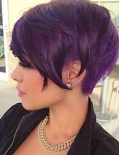 Фиолетовые волосы #27