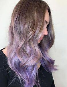Фиолетовые волосы #28
