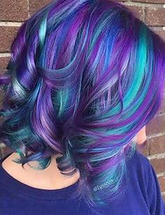 Фиолетовые волосы #29