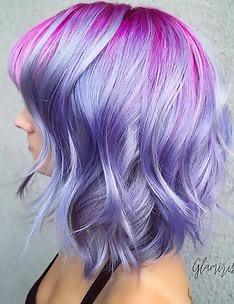 Фиолетовые волосы #30