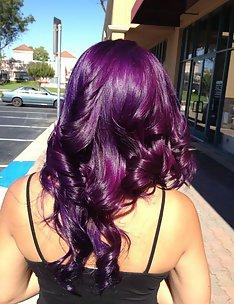 Фиолетовые волосы #31