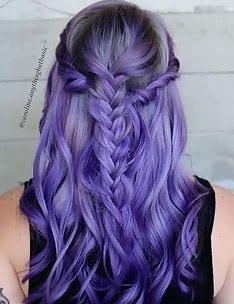 Фиолетовые волосы #33