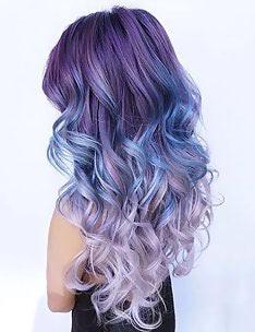 Фиолетовые волосы #34