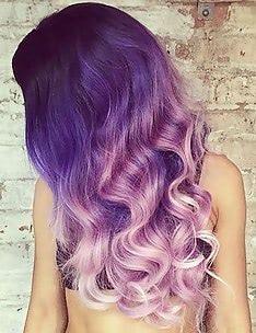 Фиолетовые волосы #35
