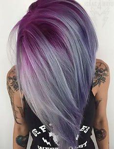 Фиолетовые волосы #36