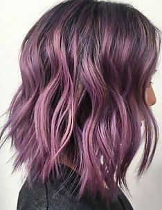 Фиолетовые волосы #37