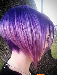 Фиолетовые волосы #38