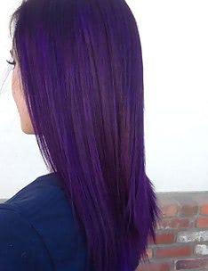 Фиолетовые волосы #39