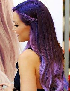 Фиолетовые волосы #40