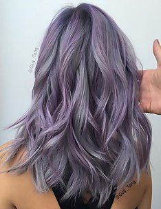 Фиолетовые волосы #41