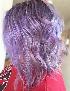 Фиолетовые волосы #42