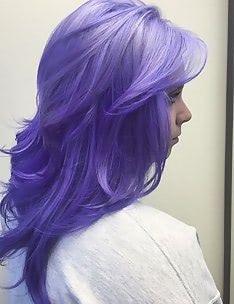 Фиолетовые волосы #43