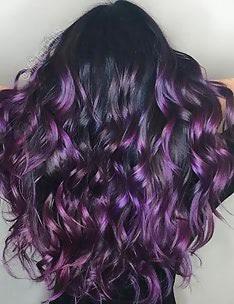 Фиолетовые волосы #44
