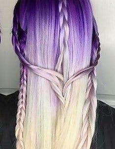 Фиолетовые волосы #45