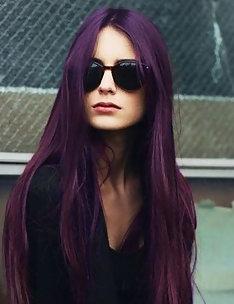 Фиолетовые волосы #03