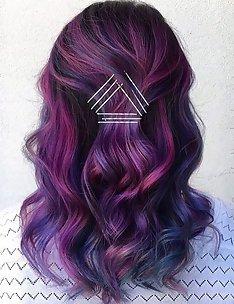 Фиолетовые волосы #46