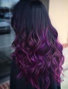 Фиолетовые волосы #47