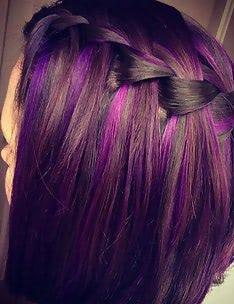 Фиолетовые волосы #49
