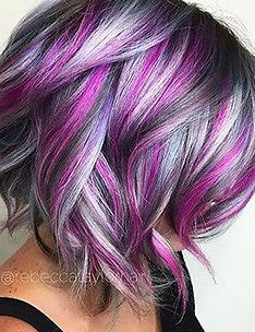 Фиолетовые волосы #50