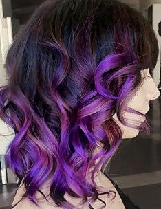 Фиолетовые волосы #51