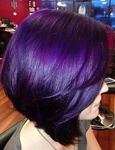 Фиолетовые волосы #54