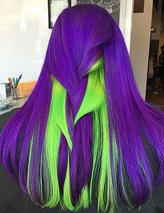 Фиолетовые волосы #55
