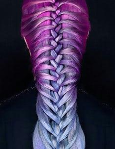Фиолетовые волосы #04