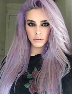 Фиолетовые волосы #56