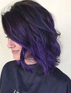 Фиолетовые волосы #57