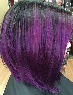 Фиолетовые волосы #58
